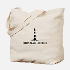 Morris Island Lighthouse SC Tote Bag
