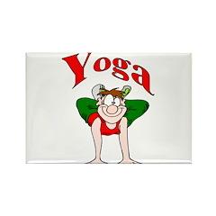 Yoga Rectangle Magnet (10 pack)