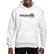 Folly Beach SC - Beach Design Hoodie