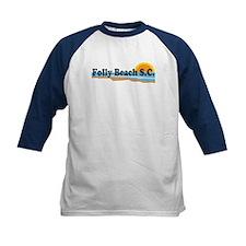 Folly Beach SC - Beach Design Tee