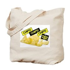 Cute Potato chip Tote Bag