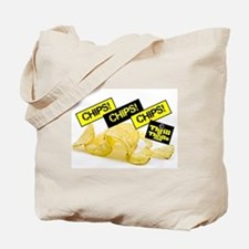 Cute Potatoe chips Tote Bag