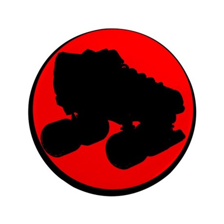 "Circle Skate 3.5"" Button"