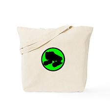 Circle Skate Green Tote Bag