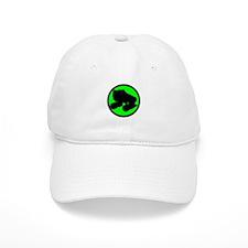 Circle Skate Green Baseball Cap