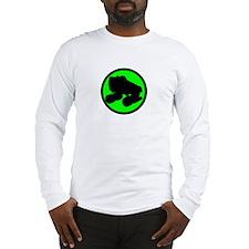 Circle Skate Green Long Sleeve T-Shirt