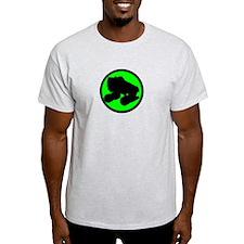 Circle Skate Green T-Shirt