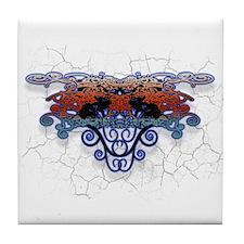Cute Gothic guys Tile Coaster