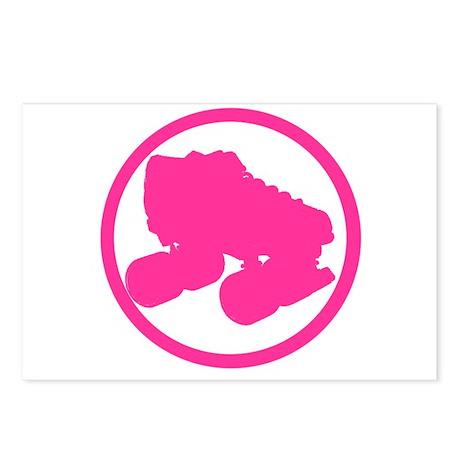 Skate Pink Postcards (Package of 8)