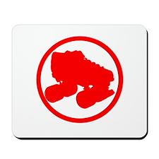 Red Skate Mousepad