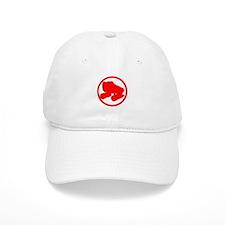 Red Skate Baseball Cap