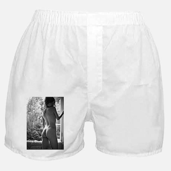 Window Girl Boxer Shorts
