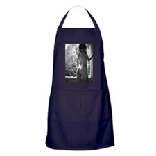 Window Girl Apron (dark)