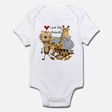 Love the Animals Infant Bodysuit