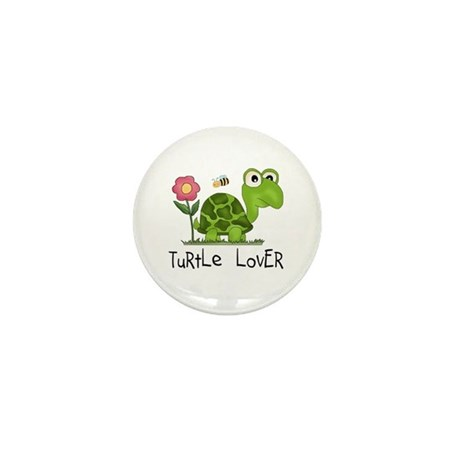 Turtle Lover Mini Button (10 pack)