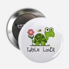 """Turtle Lover 2.25"""" Button (10 pack)"""