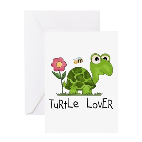 Turtle Lover Greeting Card