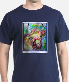 Cow, bright, colorful, T-Shirt
