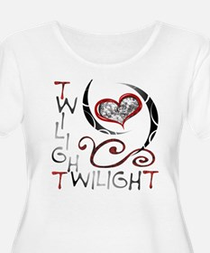 TWILIGHT Coolness Women's Plus Size Scoop Neck Tee