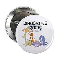 "Dinosaurs Rock 2.25"" Button (100 pack)"