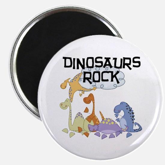 "Dinosaurs Rock 2.25"" Magnet (100 pack)"