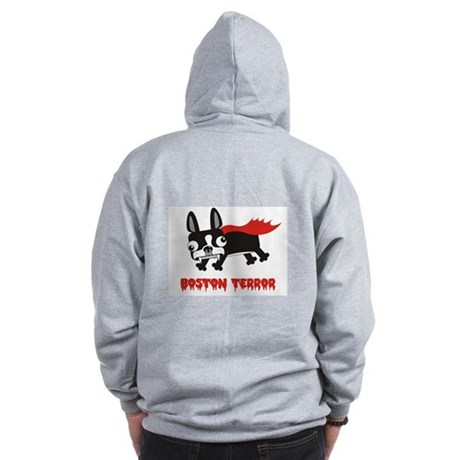 Boston Terror hoodie (back only design)