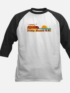 Folly Beach - Surfing Design Tee