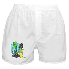 Frankenstein Family Boxer Shorts