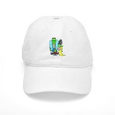 Frankenstein Family Baseball Cap