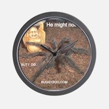 Buggy Zoo Spider Wall Clock