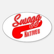 Swagg Natives Team Oval Decal