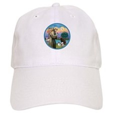 St Francis/3 dogs Baseball Cap