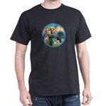 St Francis/3 dogs Dark T-Shirt