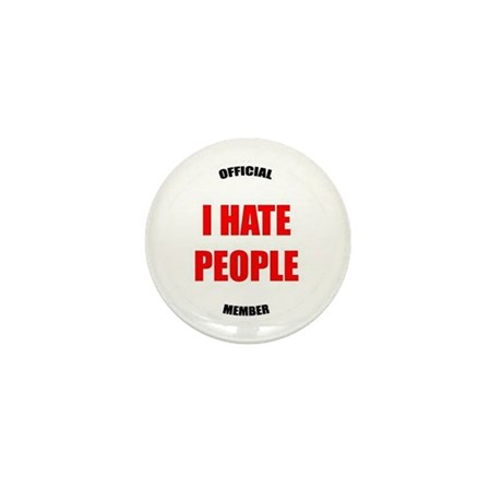 Original I HATE PEOPLE pin