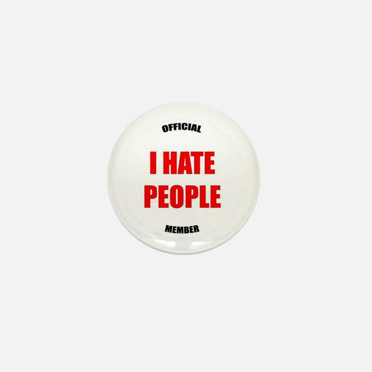 Original I HATE PEOPLE pin