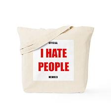 Original I HATE PEOPLE tote bag