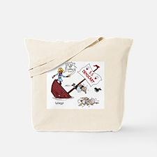 President Obama's Sinking Shi Tote Bag