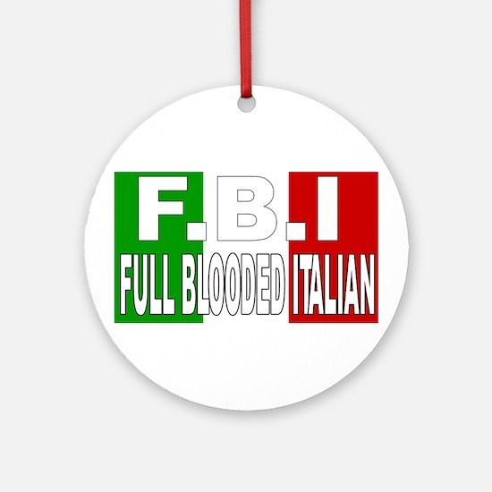 FBI Ornament (Round)