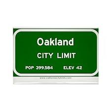 Oakland Rectangle Magnet (10 pack)