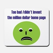 No Million Dollar Mousepad