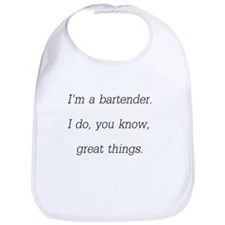 Im A Bartender Bib