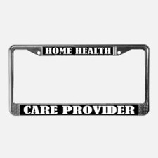 Home Healthcare Provider License Frame