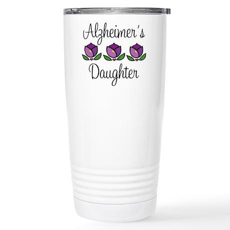Alzheimer's Daughter Stainless Steel Travel Mug