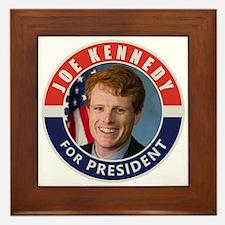 Joe Kennedy 2020 Framed Tile