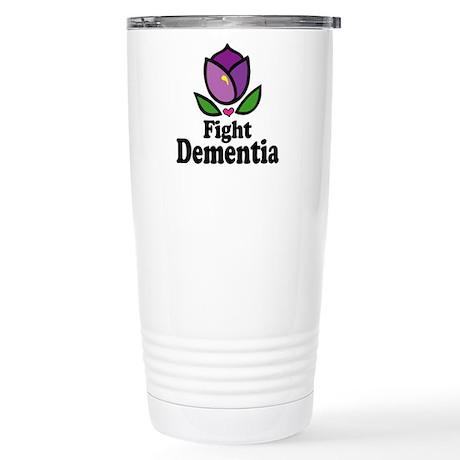 Fight Dementia Stainless Steel Travel Mug