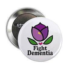 """Fight Dementia 2.25"""" Button (10 pack)"""