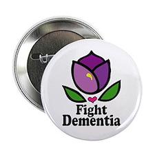 """Fight Dementia 2.25"""" Button (100 pack)"""