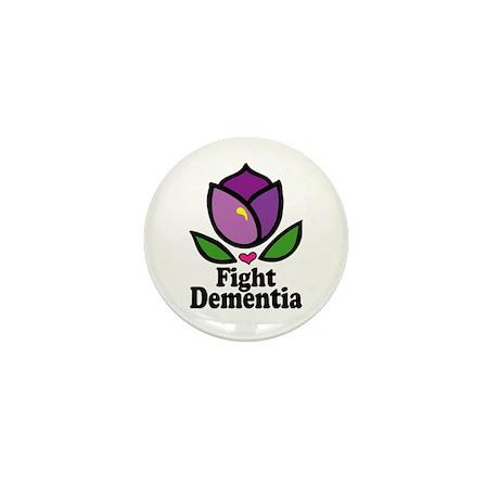 Fight Dementia Mini Button