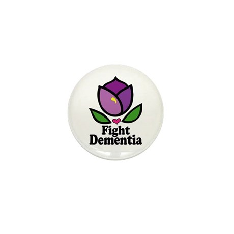 Fight Dementia Mini Button (100 pack)