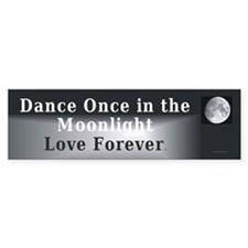 TOP Moonlight Dance Bumper Bumper Sticker
